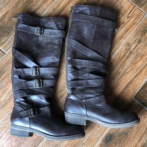 Madden Girl Knee High Brown Boots